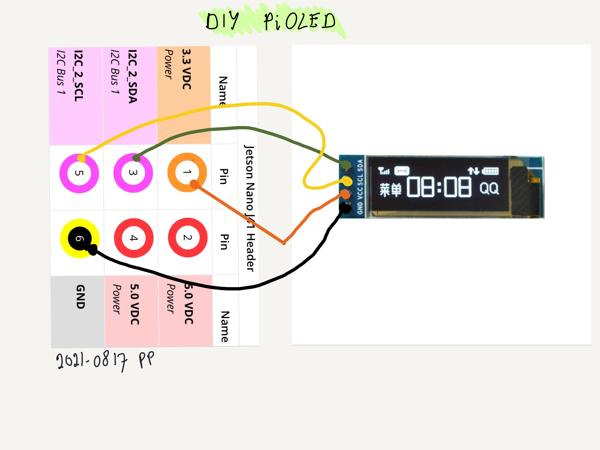 Diy oled circuit